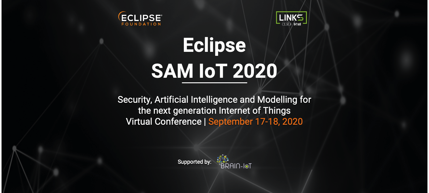 Eclipse SAM IoT virtual conference is coming soon…
